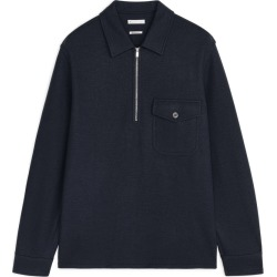 Wool Flannel Overshirt - Blue found on Bargain Bro UK from ARKET