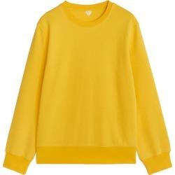 French Terry G2 Wash Sweatshirt - Yellow found on Bargain Bro UK from ARKET