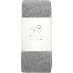 Ribbed Organic Cotton Tights - Grey found on MODAPINS from ARKET for USD $9.14