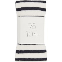 Striped Cotton Tights - White found on MODAPINS from ARKET for USD $9.14