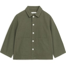 Relaxed Overshirt - Green found on Bargain Bro UK from ARKET