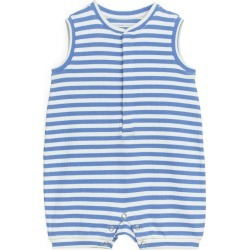 Sleeveless Jersey Romper - Blue found on Bargain Bro UK from ARKET