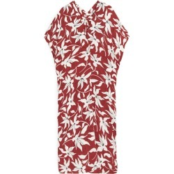 Floral Kaftan Dress - Orange found on MODAPINS from ARKET for USD $57.28