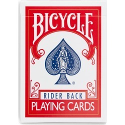 Fournier Bicycle Playing Cards - Red found on Bargain Bro UK from ARKET