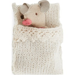 Maileg Baby Mouse In Box - Beige