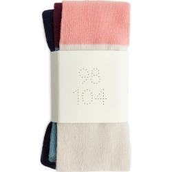 Striped Cotton Tights - Turquoise found on MODAPINS from ARKET for USD $9.14