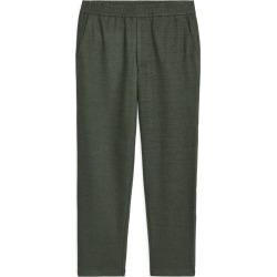 Wool Blend Trousers - Green found on Bargain Bro UK from ARKET