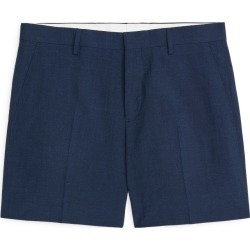 Wool Linen Shorts - Blue found on Bargain Bro UK from ARKET