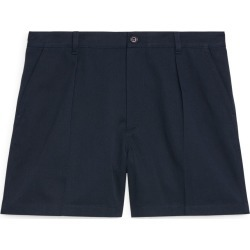 Pleat-Detail Shorts - Blue found on Bargain Bro UK from ARKET