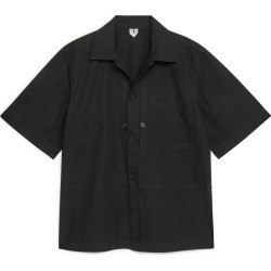 Short Sleeve Ripstop Overshirt - Black found on Bargain Bro UK from ARKET