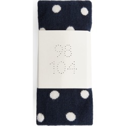 Polka Dot Cotton Tights - Blue found on MODAPINS from ARKET for USD $8.89