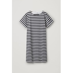 STRIPED COTTON T-SHIRT DRESS found on MODAPINS from COS for USD $89.00