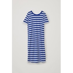 STRIPED COTTON T-SHIRT DRESS found on MODAPINS from COS for USD $44.50