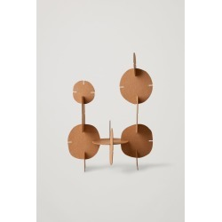 RECYCLED-PAPER MODULAR DECORATIONS