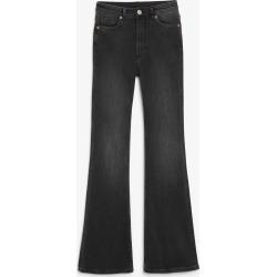 Oki flare black jeans - Black found on Bargain Bro UK from Monki