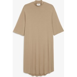 Midi turtleneck dress - Brown found on MODAPINS from Monki for USD $18.79