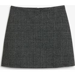 A-line mini skirt - Grey found on Bargain Bro UK from Monki