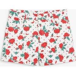 High waisted cotton shorts - White found on Bargain Bro UK from Monki