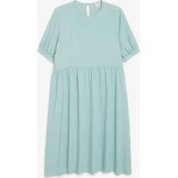 Smock dress - Turquoise found on MODAPINS from Monki for USD $43.84