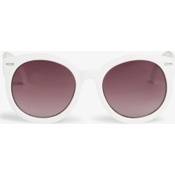 Round lens shades - White found on Bargain Bro UK from Monki