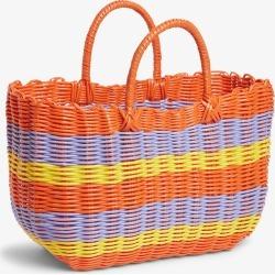 Basket bag - Purple found on Bargain Bro UK from Monki