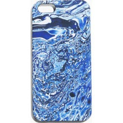 Marble Iphone 6 Case - Blue