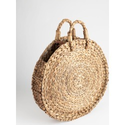 Woven Straw Circle Bag - Beige found on Bargain Bro UK from & other stories