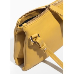 Small D-Ring Crossbody Bag - Yellow found on Bargain Bro UK from & other stories