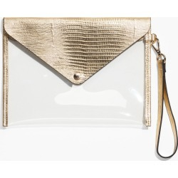 Transparent Clutch - Gold found on MODAPINS from & other stories for USD $24.32