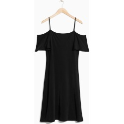Cold Shoulder Dress - Black found on MODAPINS from & other stories for USD $48.49