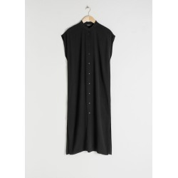 Midi Shirt Dress - Black found on MODAPINS from & other stories for USD $58.06