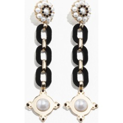Statement Chain Earrings - White found on Bargain Bro UK from & other stories