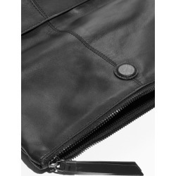 Leather Fold Over Backpack - Black found on Bargain Bro UK from & other stories