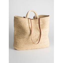 Woven Straw Bag - Beige found on Bargain Bro UK from & other stories