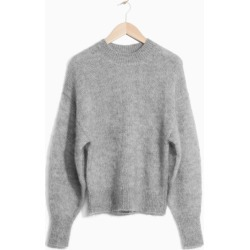 Mohair Wool Blend Sweater - Grey found on Bargain Bro UK from & other stories