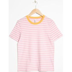 Striped Tee - Pink