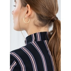 Duo Wire Hoop Earrings - Gold found on Bargain Bro UK from & other stories