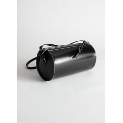 Leather Cylinder Bag - Black found on Bargain Bro UK from & other stories