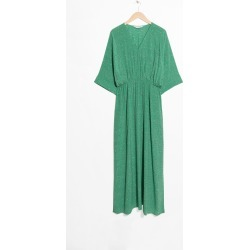 Printed Kaftan Dress - Green found on MODAPINS from & other stories for USD $116.86