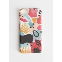 Abstract Watercolour iPhone Case - Pink