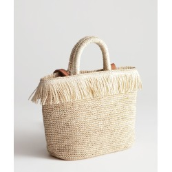 Embellished Woven Tote - Beige found on Bargain Bro UK from & other stories