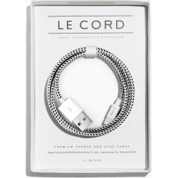 Le Cord USB Charge Cable - Black