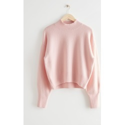 Mock Neck Sweater - Pink found on Bargain Bro UK from & other stories