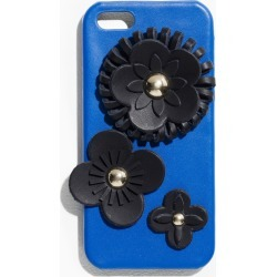 Leather Flower iPhone 5 Case - Blue found on Bargain Bro UK from & other stories