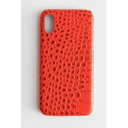 Croc Embossed iPhone Case - Red found on Bargain Bro UK from & other stories