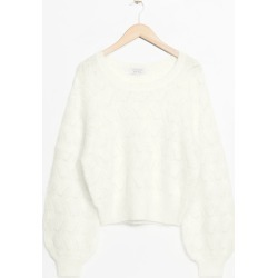 Merino Wool Sweater - White found on Bargain Bro UK from & other stories