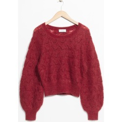Merino Wool Sweater - Red found on Bargain Bro UK from & other stories