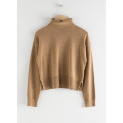 Cashmere Turtleneck Sweater - Beige found on Bargain Bro UK from & other stories