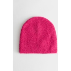 Wool Blend Ribbed Beanie - Pink found on Bargain Bro UK from & other stories