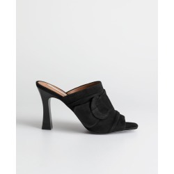 Square Buckle Open Toe Mules - Black found on Bargain Bro UK from & other stories